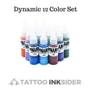 Dynamic-12-Color-Set Tattoo Ink Review