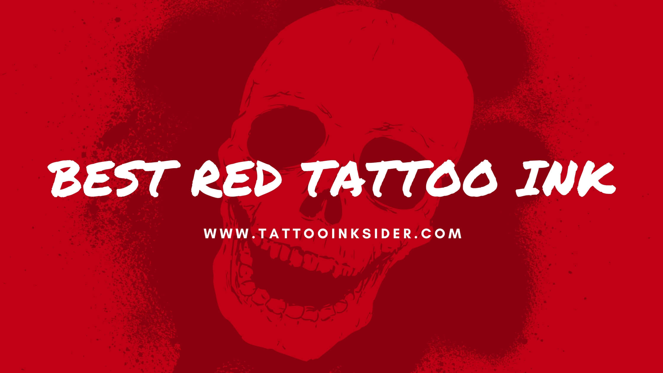 Best Red Tattoo Ink in 2020