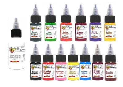StarBrite Tattoo Ink Review